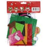 Viltpakket voor kinderen sneeuwpop-Koperdraadje