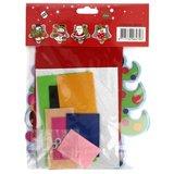 Viltpakket kerstman voor kinderen - Koperdraadje