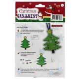 Viltpakket voor kinderen kerstboom - koperdraadje