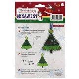 Viltpakket voor kinderen kerstboomhanger Koperdraadje