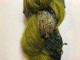 """Koperdraadje Bubbelicious kleur """" mos in het bos""""_"""