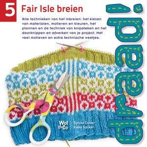 Boek Draad! 5 fair isle breien