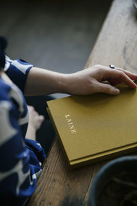 Laine Knitting note book