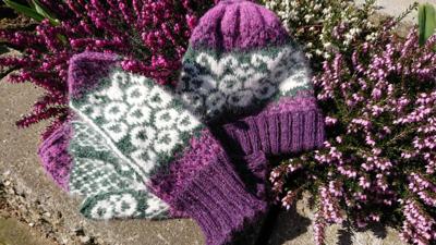Schapenmuts paars / roze