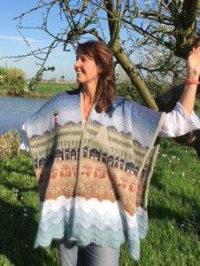 Breipakket Strand shawl