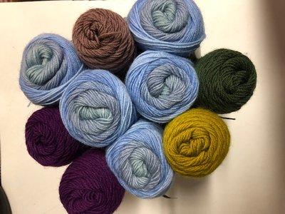 Breipakket AYYA handmade Knit Along licht blauw